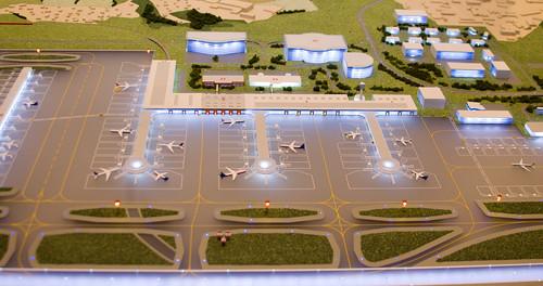 Третья полоса и терминал.