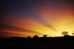 Every new beginning comes from some other beginning's end. (legends2k) Tags: sunset lumix evening twilight dusk panasonic g1 hyderabad sunrays outskirts ringroad fourthirds evenfall gautamabuddha microfourthirds panasoniclumixdmcg1