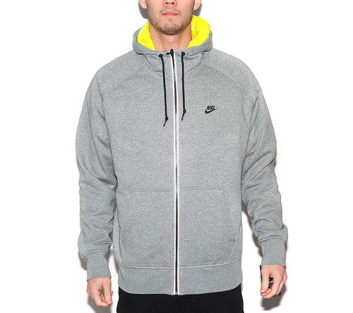 Nike AW77 Reversible Jacket - Heather Grey