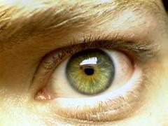 Day 47 - Glare (newjerseydan) Tags: portrait selfportrait macro eye closeup 1 eyes 365 digitalcameraclub project365 365days