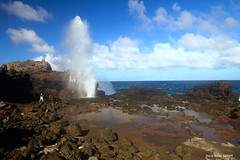 Nakalele Blowhole (Buhler's World) Tags: world water clouds landscape hawaii rocks maui blowhole seaspray nakalele buhlers crayok