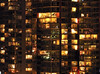 Urban Windows (Surrealplaces) Tags: urban canada calgary tower window colors skyline night balcony condo alberta urbano unionsquare urbane