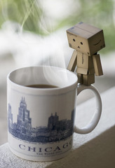 Good Morning Chicago! (avenue207) Tags: chicago coffee bokeh smoke danbo