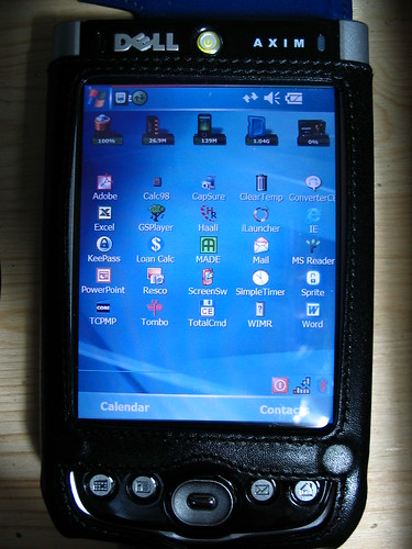 Dell Axim X51v purchased from eBay