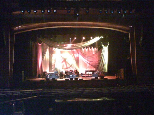 Don Henley Stage Drapery and Backdrop with Digital Printing