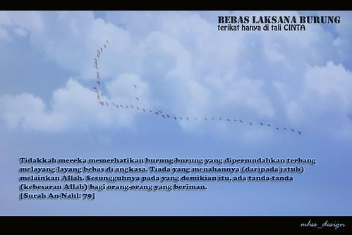 Bebas Laksana Burung