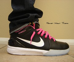 Nike Kobe IV 4 (Never Wear Them) Tags: pink black west cool shoes zoom cut 5 top air id low 4 nike v kobe bryant iv icey swoosh nikeid kanye zk zk4 yeezys yeezy zkiv