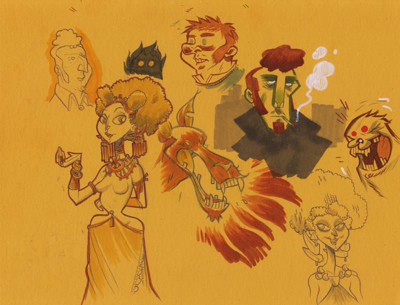 Doodles 12/20