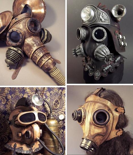 steampunk topeng