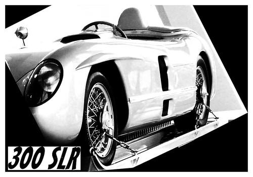 Mercedes Benz 300 Slr. Mercedes - Benz 300 SLR racing