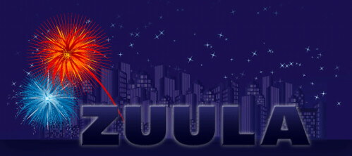 Zuula New Years Logo