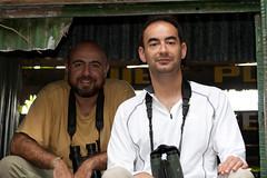 Senci y Gonzalo (Adriano.es) Tags: africa amigos personas viajes lugares gambia gonzalo eventos camperos senci viajegambia2009