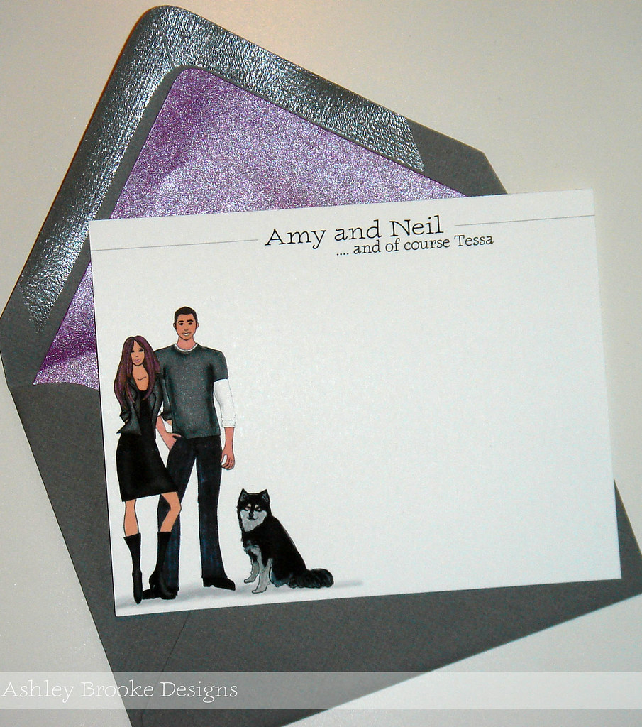 Custom Stationery: Rock and Roll!