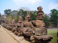 Entrance Angkor Thom (Channed) Tags: travel cambodia asia angkor chantalnederstigt siemreap angkorthom temple temples channedimages