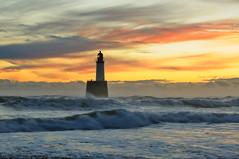 Rattray Head sunrise, Aberdeenshire, Scotland (iancowe) Tags: lighthouse beach sunrise scotland waves aberdeenshire head scottish stevenson peterhead rattray mywinners lighthousetrek lightkeeperaward wbnawgbsct