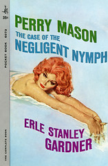 The Case of the Negligent Nymph (McClaverty) Tags: mystery illustration paperback crime murder pulp suspense perrymason erlestanleygardner