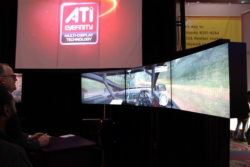 ATI Eyefinity Demo with Dirt 2 on PC