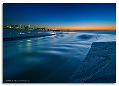 Fluidity (DanielKHC) Tags: blue sunset orange beach interestingness high nikon dubai dynamic uae explore range fp frontpage dri hdr d300 jbr digitalblending danielcheong danielkhc tokina1116mmf28 gettyimagesmeandafrica1