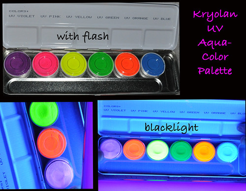 Kryolan UV Palette