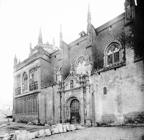 Monasterio de San Juan de los Reyes a finales del siglo XIX. Fotografía de Alexander Lamont Henderson