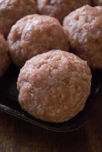 pork meat balls