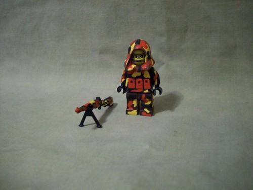 Fall Sniper custom minifig