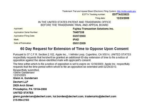 Apple Wants To Aquire Ipad Trademark From Fujitsu - 4293400526 1760Ebb757 1