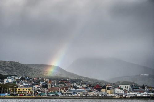 Rainbow to Ushuaia