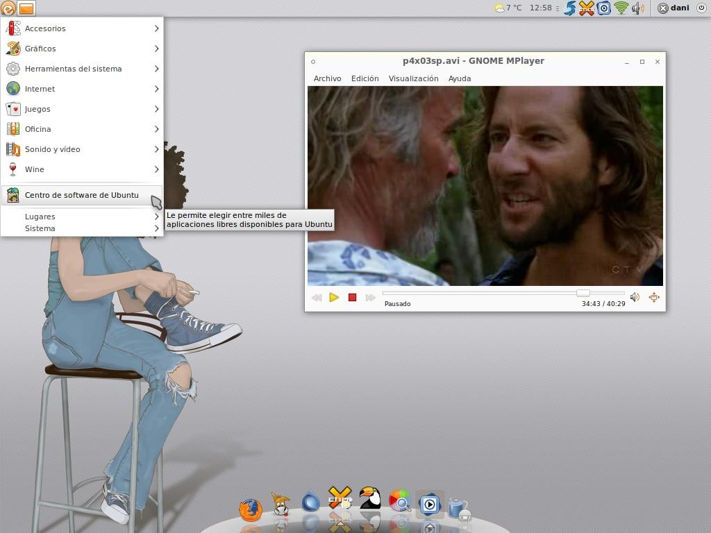Ubuntu 10.04 Lucid Lynx Desktop