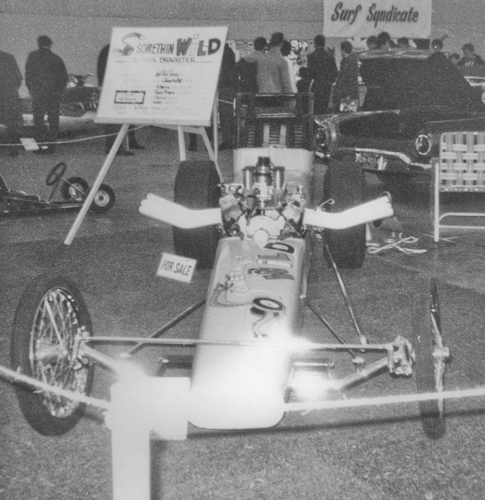 Somethin Wild B/G dragster as it appeared at the 1966 Autorama