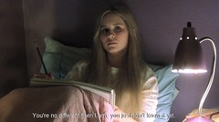 Don't look at me like that... (froussecarton) Tags: film subtitles whiteoleander alisonlohman
