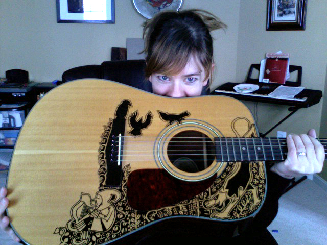 Guitar, Meet Sharpie