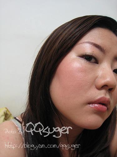 你拍攝的 晶燦蜜橘+淡妝。