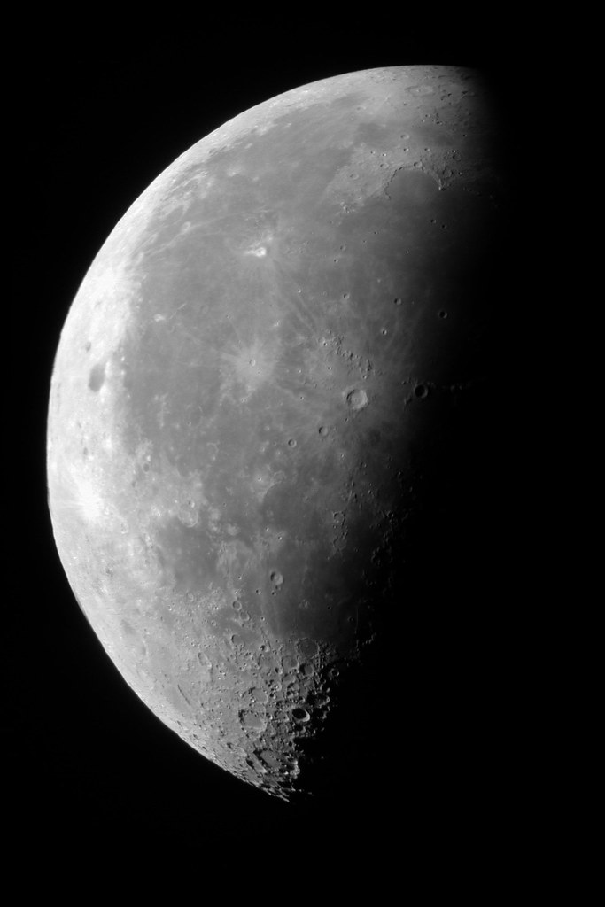 Moon, about 5:13AM EDT July 24, 2000  Images without Barlow pasted with Pixmaker Lite