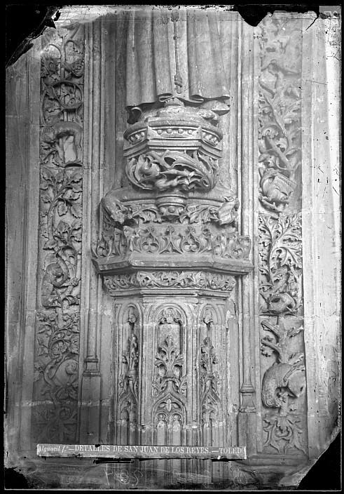Monasterio de San Juan de los Reyes en el siglo XIX. Fotografía de Casiano Alguacil. Ayuntamiento de Toledo