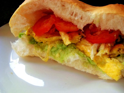 fried egg sandwich