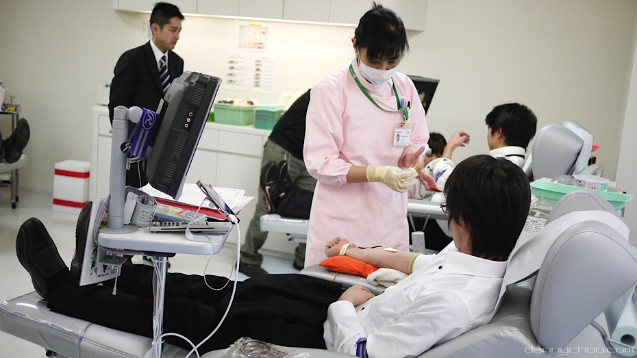 Japan Blood Donation