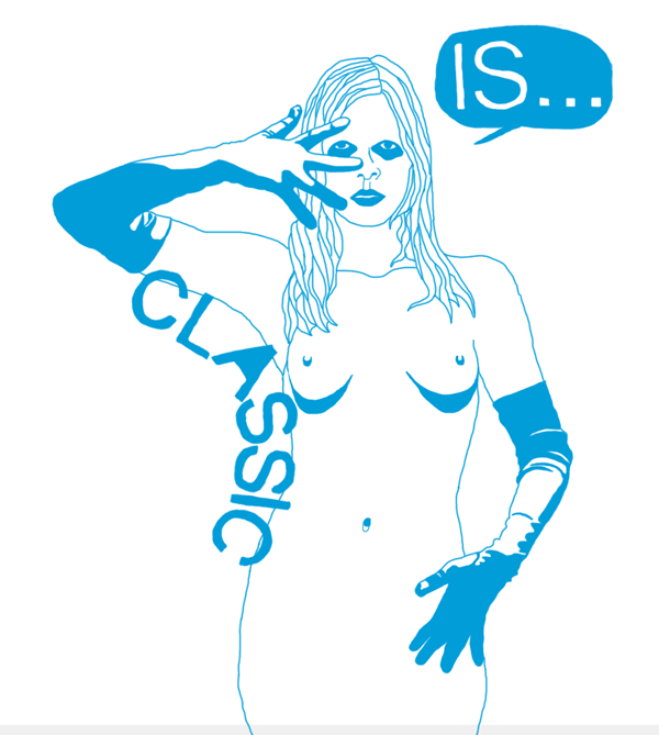 CLASSIC IS [BLUE]