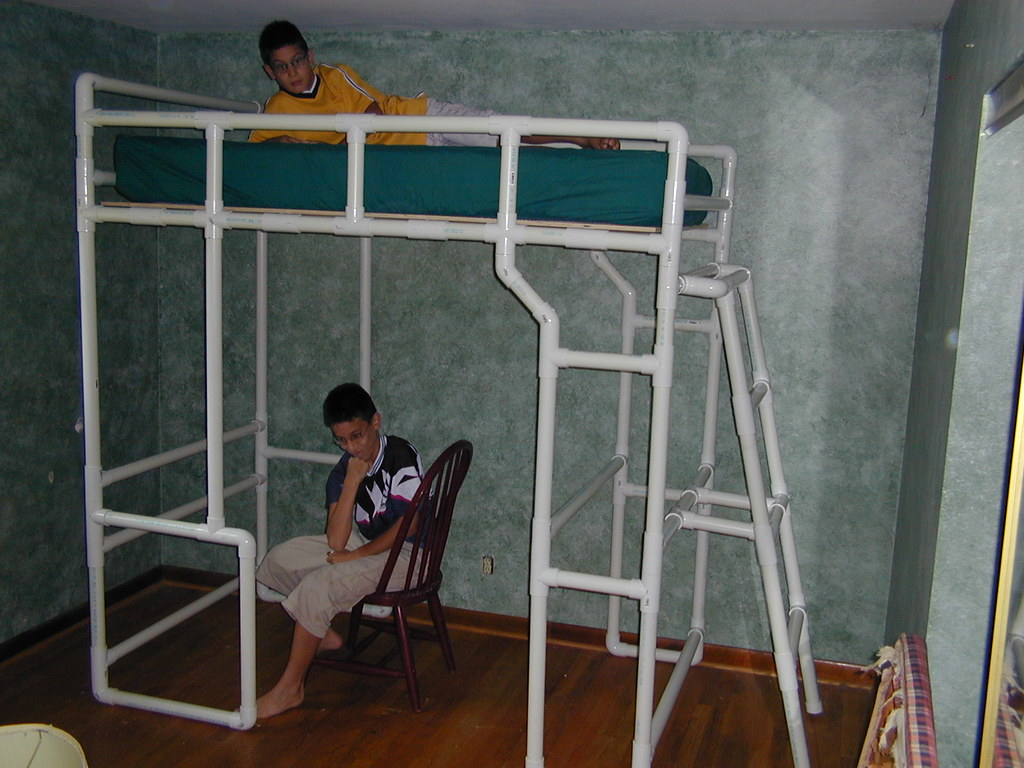 free diy full size loft bed plans