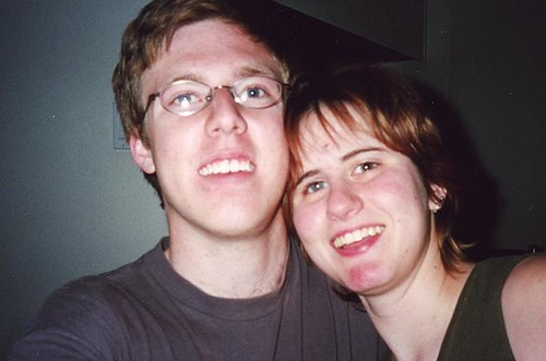 Rob and I Feb 2002