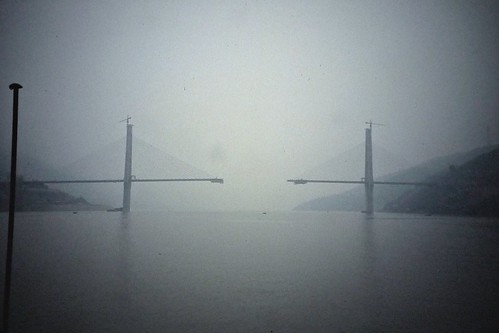 Bridge - Yangtze River - Sichuan, China