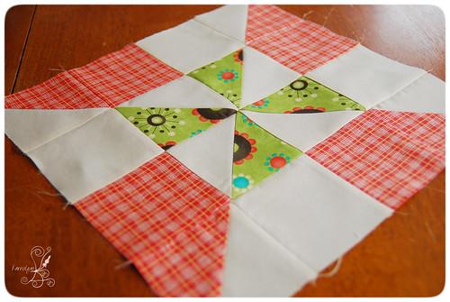 Pinwheel Quilt Block 1