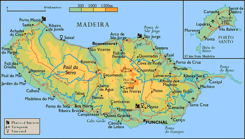 Madeira archipelago, i took this pic from the net