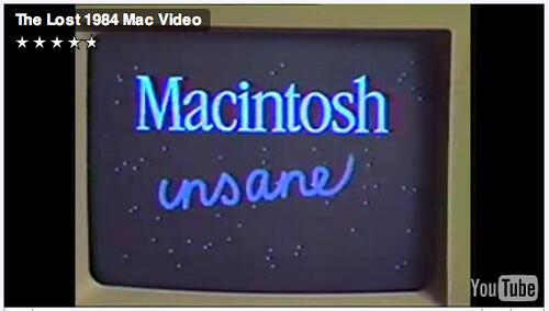 Macintosh insanely great