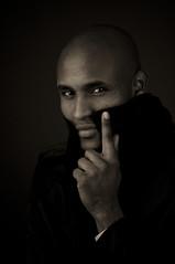 Abdi (Velocity Girl - Christina Børding) Tags: portrait man black model nikon masculine lowkey d300 105mm flickrsbest flickrdiamond abdijama