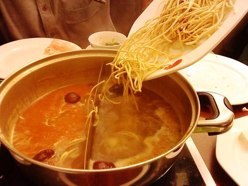 Noodle dippage