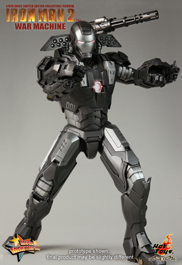 War Machine Hot Toys Limited Edition prototipo