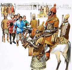Benin Empire (cool-art) Tags: city black history portugal europe king african nigeria warriors benin monarchy ebo