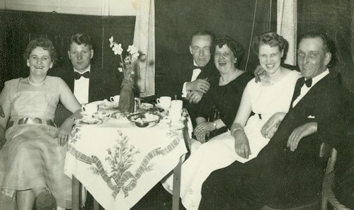 Thomas Watt and Family at a Wedding