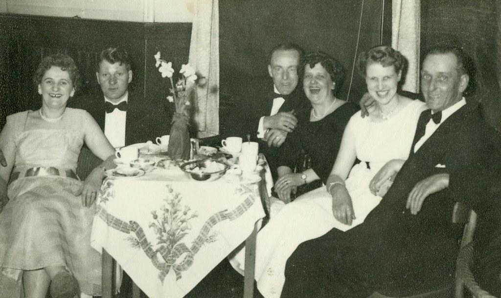 Thomas Watt and Family at a Wedding